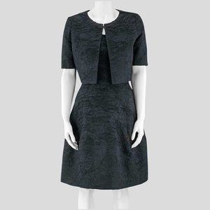 Oscar de la Renta Black Dress & Jacket - 6US